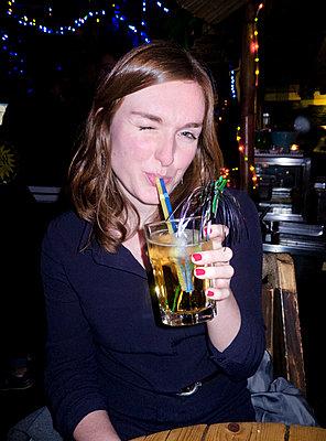In a bar - p978m1020545 by Petra Herbert