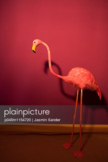 Flamingo-Dekoration - p045m1154720 von Jasmin Sander