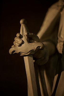 Sword of King of France Louis IX (Saint Louis) - p1028m2026650 von Jean Marmeisse