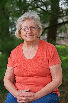Senior Woman - p1169m1124032 by Tytia Habing