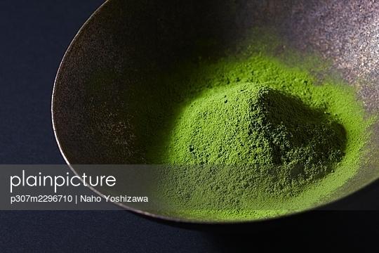 Matcha green tea - p307m2296710 by Naho Yoshizawa