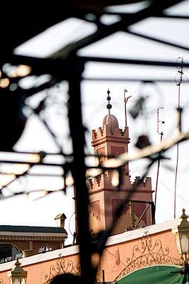 Mosque in Marrakech - p6120225 by Pierre c.
