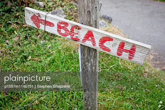 Beach - p1057m1146751 von Stephen Shepherd