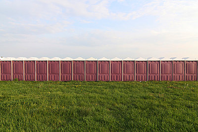 Many portable toilets - p7950072 by Janklein
