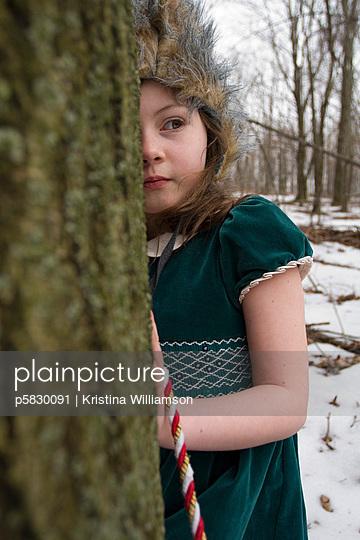 Scheues Reh - p5830091 von Kristina Williamson