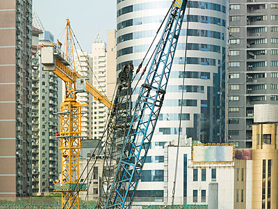 Construction in shanghai - p9249160f by Image Source