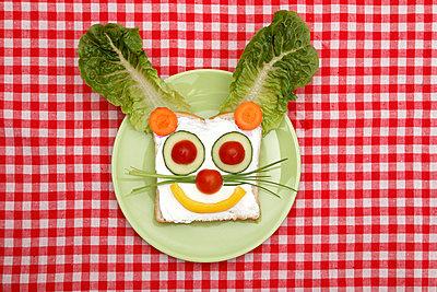 Funny meal - p238m831880 by Anja Bäcker
