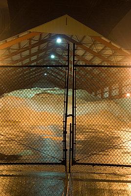 Sand Storage Shed, New York City - p5690086 by Jeff Spielman