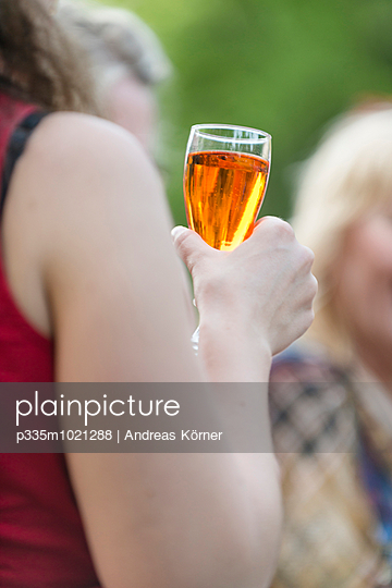 Party in summer - p335m1021288 by Andreas Körner