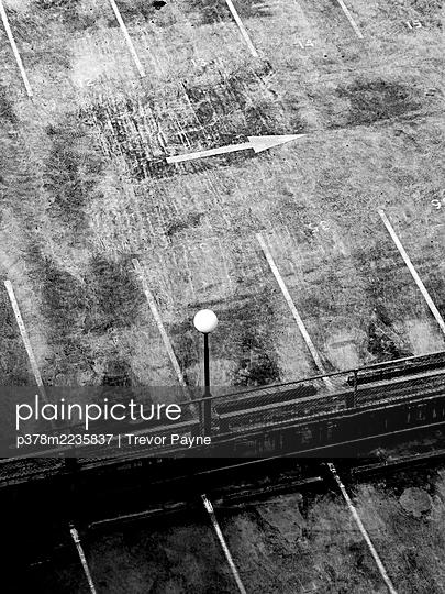 Empty car park - p378m2235837 by Trevor Payne