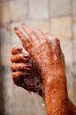 Hennabemalung - p8450005 von Robert DiScalfani