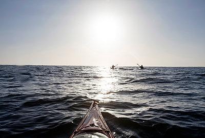 Nordsee im Kajak - p1257m1154586 von Jozef Kubica