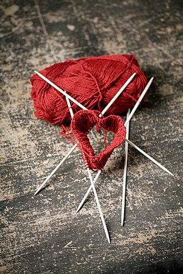 Knitting needle - p2380161 by Anja Bäcker
