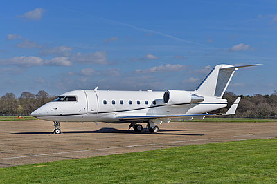 Mid Sized Private Jet - Bombardier Challenger - p1048m1444009 by Mark Wagner
