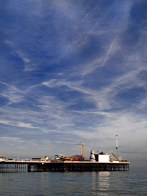Brighton Pier  - p1072m829464 by Neville Mountford-Hoare