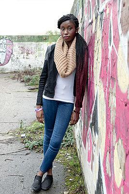 Junge Frau aus Ghana - p342m1003357 von Thorsten Marquardt