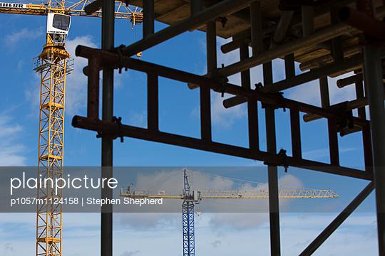 Baustelle - p1057m1124158 von Stephen Shepherd