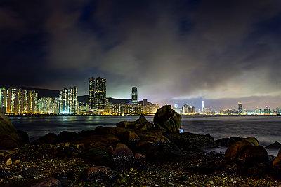 Taikoo Shing from Yau Tong, Hong Kong - p1558m2132802 by Luca Casonato
