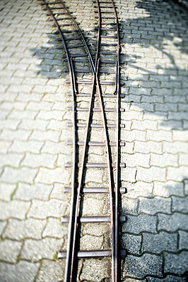 Switch of a model railway II - p819m893512 by Kniel Mess