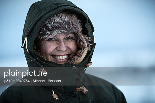 Portrait of smiling woman - p312m2249764 by Michael Jönsson