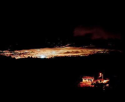 Lichter der Stadt - p1441m2028199 von Benjamin Zibner