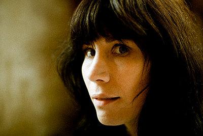 Gesicht einer Frau - p9793101 von Lang photography