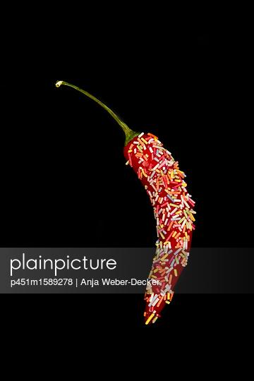 Gezuckerte Peperoni - p451m1589278 von Anja Weber Decker