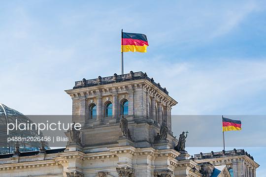 Deutschlandflaggen - p488m2026456 von Bias