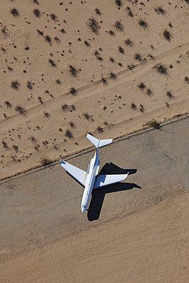 Desert business jet storage - p1048m1058627 by Mark Wagner