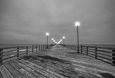 Oceanside Pier - p1436m1492851 by Joseph S. Giacalone