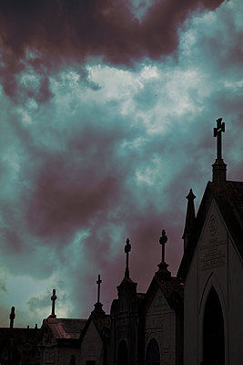 Crypts Silhouette  - p1248m2134717 by miguel sobreira