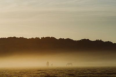 Humans and horse - p1326m2099802 by kemai