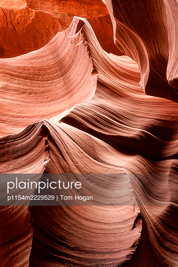 USA, Arizona, Antelope Canyon, Sandsteinformation - p1154m2229529 von Tom Hogan