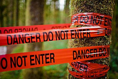 Danger do not enter - p343m989196f by Christopher Kimmel