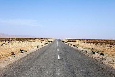 Highway through desert - p388m701731 by Parker