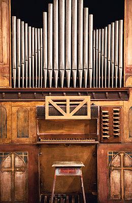Old church organ in Pistoia - p382m2021714 by Anna Matzen