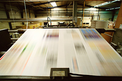 Printing press - p62316776f by James Hardy