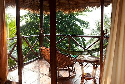 Sihanoukville, Bungalow - p842m1030635 von Renée Del Missier
