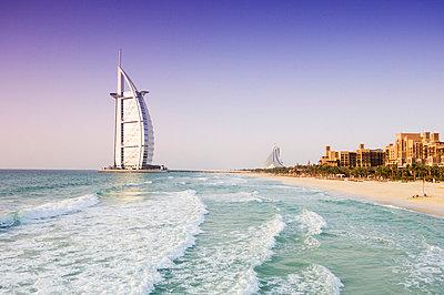 Burj Al Arab Hotel, Dubai, United Arab Emirates, Middle East - p8710694 by Amanda Hall