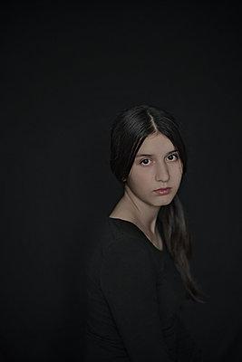 Girl in black - p1432m2257857 by Svetlana Bekyarova