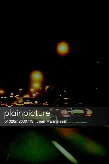 Highway, France - p1028m2030719 von Jean Marmeisse
