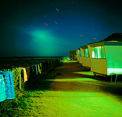 Moonlit trailers - p1125m918035 by jonlove