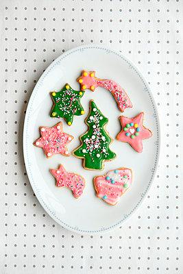 Weihnachtsplätzchen - p249m793031 von Ute Mans