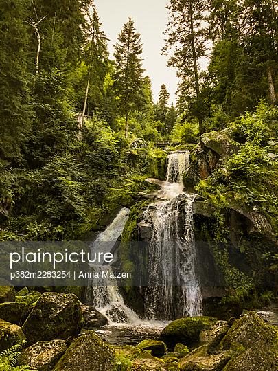 Triberg waterfalls - p382m2283254 by Anna Matzen