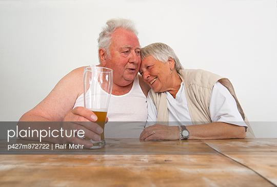 Älteres Paar - p427m972722 von R. Mohr