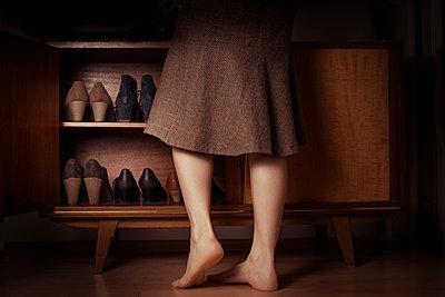 Schuhschrank - p1398m1444583 von Tabitha Genoveva Harter