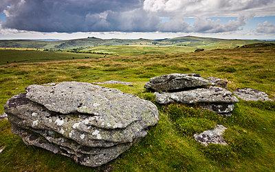 Chinkwell Tor, Dartmoor National Park, Devon, England, United Kingdom, Europe - p8713029 by Adam Burton