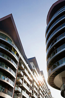 Modern apartment buildings - p9248023f by Image Source