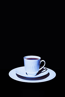 White coffee set - p1149m2031040 by Yvonne Röder