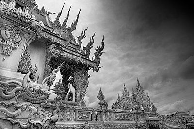 Wat Rong Khun, Buddhist temple  - p1445m2122707 by Eugenia Kyriakopoulou